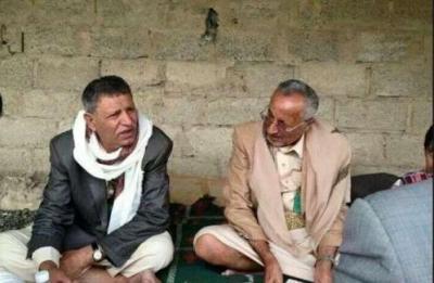 """شاهد صورة منزل صهر """" صالح """" الشيخ """" المشرقي """" والذي فجره الحوثيون"""