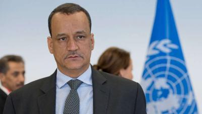 """أبرز ما قاله المبعوث الأممي إلى اليمن """" ولد الشيخ """" حول تطورات الأحداث الأخيرة في صنعاء"""