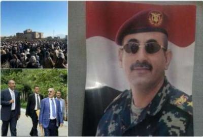 بالصور .. رغم قيود الحوثيين .. تشييع كبير للحارس الشخصي لصالح في العاصمة صنعاء
