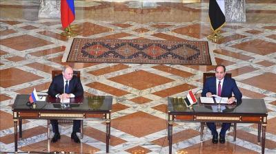 """توقيع اتفاقية مشروع """"الضبعة"""" النووي بين روسيا ومصر"""