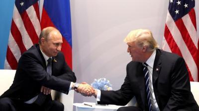 بوتين يقول إن ترامب يحظى بثقة شعبية