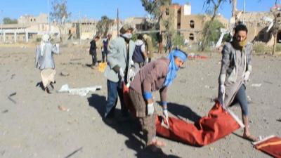الحوثيون يكشفون عن أسماء القتلى والمفقودين من المعتقلين في سجونهم والذين إستهدفتهم غارات جوية بالعاصمة صنعاء ( الأسماء)