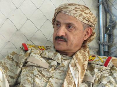 قائد المنطقة العسكرية الثالثة يعلن تحرير محافظة شبوة من الحوثيين