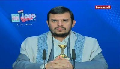 عبد الملك الحوثي يقول بأنه يتم إستهداف القصر الجمهوري بصنعاء ويقابله إستهداف لقصر اليمامة بالرياض!