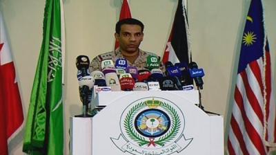 """ناطق التحالف يكشف آخر مستجدات الأوضاع في اليمن ويؤكد وجود تواصل مع ضباط وقبائل تابعة للرئيس الراحل """" صالح """""""
