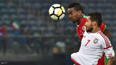 """المنتخب الإماراتي يتغلب على نظيره العماني في ثاني مباريات """"خليجي 23"""""""