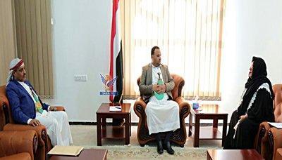 """القيادية المؤتمرية والوزيرة في حكومة بن حبتور """" فائقة السيد """"  في ظهوراً لها هو الأول منذ مقتل الرئيس الراحل """" صالح """" ( صوره)"""