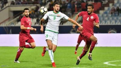 """المنتخب القطري يسقط  أمام نظيره العراقي في """"خليجي 23"""""""