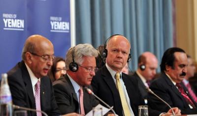 طالبوا الحكومة بِوضع جدول زمني للإصلاح الاقتصادي .. تفاصيل اعمال الاجتماع السابع لأصدقاء اليمن في لندن والبيان الختامي للاجتماع