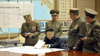 """زعيم كوريا الشمالية: أحتفظ بـ""""الزر النووي"""" في هذا المكان"""