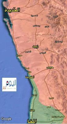 آخر مستجدات المعارك من الحديدة .. الجيش يتقدم ويقترب من مركز مديرية حيس
