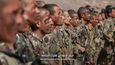 بالصور .. قوات الأمن الخاصة تنفذ مناورات وتدريبات عسكرية في مأرب