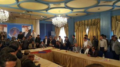 ماهي المادة التي إستند عليها أعضاء اللجنة العامة لإختيار صادق أمين أبو راس رئيساً للمؤتمر