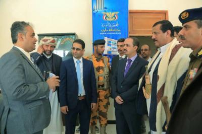 وزير الاعلام يتفقد المؤسسات الاعلامية في محافظة مأرب ( صور)