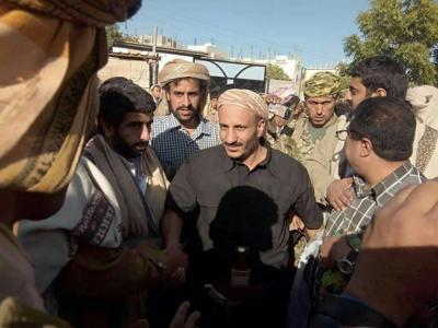 أسماء الشخصيات التي رافقت طارق محمد عبدالله صالح من مأرب إلى شبوه