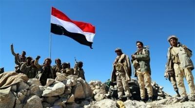 قوات الجيش والمقاومة تسيطر على جبل إستراتيجي في البيضاء