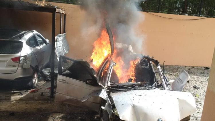 تفجير سيارة مفخخة استهدف أحد قيادات حماس في صيدا اللبنانية