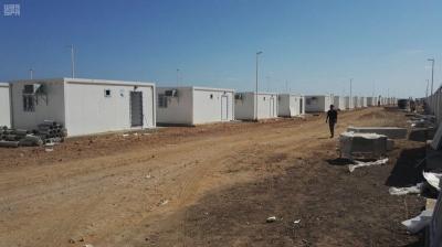 بالصور .. مركز الملك سلمان ينجز 85% من 300 وحدة سكنية لليمنيين بجيبوتي