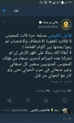 هاني بن بريك يلمح إلى إمكانية التحالف مع طارق محمد عبدالله صالح وتحرير صنعاء !