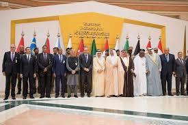 مؤتمر صحفي لوزراء خارجية دول التحالف العربي حول العمليات الإنسانية في اليمن