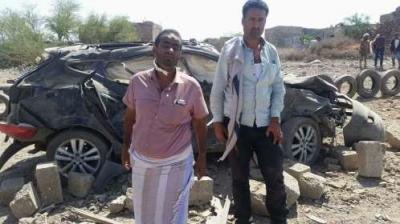"""بالصور .. المكان الذي إستهدفه الحوثيون اليوم في """" الخيامي """" بتعز أثناء حضور نائب وزير الداخلية ( أسماء القتلى والجرحى)"""