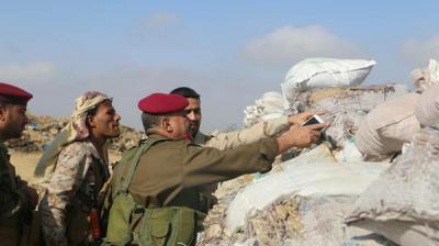 آخر مستجدات المعارك من تعز .. الجيش يتقدم ويسيطر على مناطق ومواقع جديدة