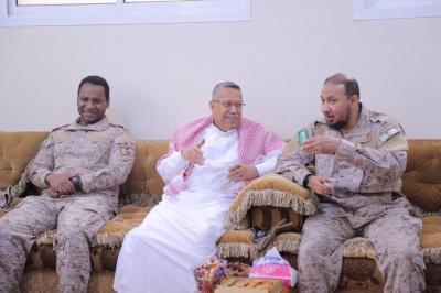 التحالف يقول كلمته ويعلن موقفه في بيان له بشأن دعوات إسقاط حكومة بن دغر في عدن