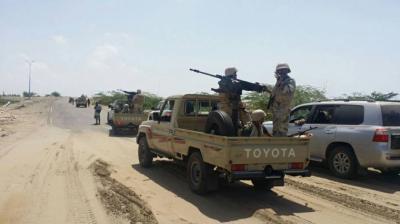 إنقسامات في صفوف قوات الحزام الأمني بأبين بعد توجيهات بالمشاركة في مواجهات عدن