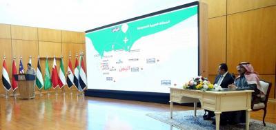 وزير الاشغال اليمني والسفير السعودي وناطق التحالف يستعرضون جهود التحالف الإنسانية باليمن ( تفاصيل)