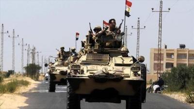 عمليات عسكرية مصرية في 7 سنوات بينها إثنتان خارج البلاد ( تقرير)