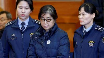السجن 20 عاما للصديقة المقربة من رئيسة كوريا الجنوبية السابقة بتهمة الفساد والتدخل في شؤون البلاد