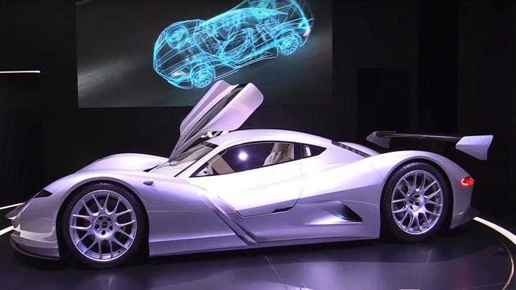 أسرع سيارة كهربائية في العالم ( فيديو)
