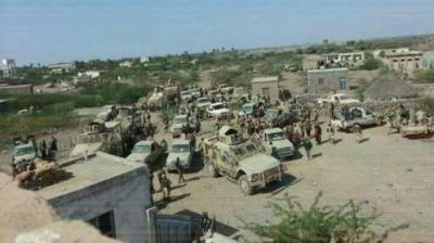 مقتل عشرات الحوثيين أثناء هجومهم على مديرية حيس للمرة الثالثة في عملية وصفت بالإنتحارية