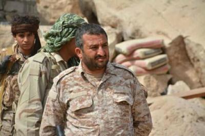 مقتل قائد عسكري بارز في الجيش الوطني في معارك مع الحوثيين شرق صنعاء