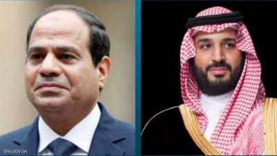السيسي يستقبل ولي العهد السعودي الأحد