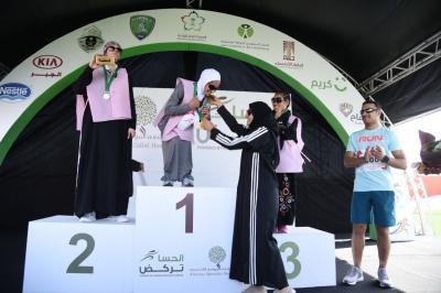 بالصور .. لأول مرة في السعودية ماراثون للفتيات