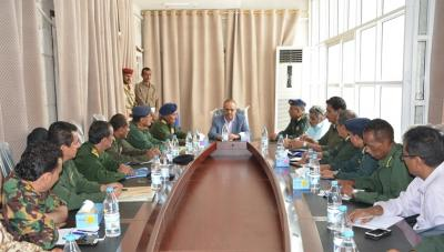 إجتماع أمني في عدن برئاسة وزير الداخلية وغياب شلال شائع لبحث جرائم الاغتيالات في الجنوب وتشديد الإجراءات الأمنية