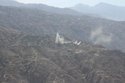الجيش الوطني يتقدم في صعدة ويقترب من مركز مديرية رازح