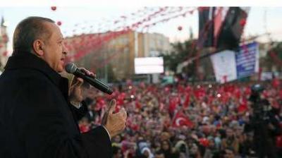 أردوغان : كان باستطاعتنا السيطرة على عفرين خلال 3 أيام