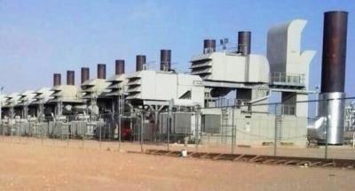 وصول التوربين الثالث لتوسعة المحطة الغازية بوادي حضرموت