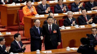 شي جين بينغ رئيسا للصين لولاية جديدة
