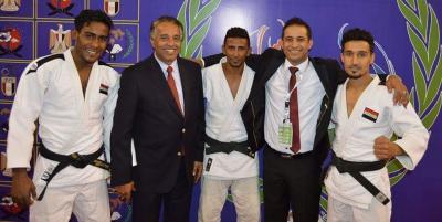 اليمن يحقق ثلاث ميداليات ذهبيه وفضيتان في البطولة العربية للجودو بمصر