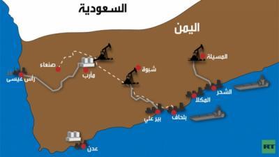 الحوثيون يستخدمون النفط الخام الممتد من صافر إلى رأس عيسى .. ووزارة النفط تحذر من التعامل معهم وتتوعد