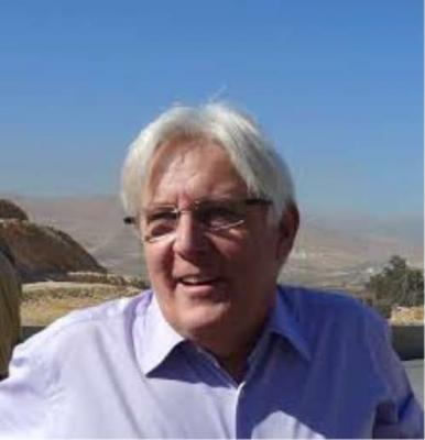 """زياره مرتقبه إلى صنعاء للمبعوث الأممي البريطاني """" مارتن """""""