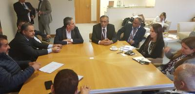 وفد البرلمان اليمني يلتقي رئيس الاتحاد البرلماني الدولي