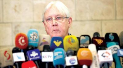 المبعوث الأممي غريفيث متفائل بعد زيارة دامت أسبوعاً لصنعاء