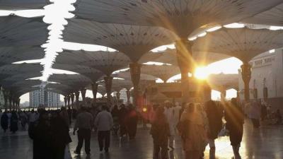 توجيهات بفصل المعتكفين عن المصلين في المسجد النبوي إبتداءً من رمضان القادم