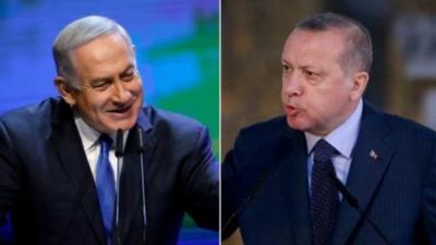 """""""حرب كلامية"""" بين أردوغان ونتنياهو بسبب غزة"""