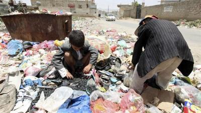 """""""الصليب الأحمر"""" : المجتمع اليمني ينحدر نحو الموت البطيء"""