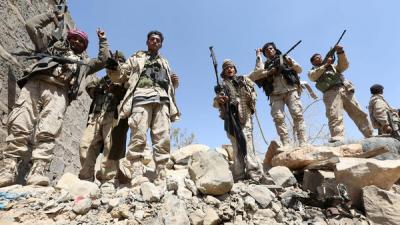 الجيش الوطني يحرر سلسلة جبلية استراتيجية في جبهة نهم شرق العاصمة صنعاء